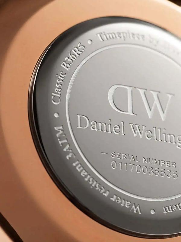 Daniel Wellington Classic York While DW00100038
