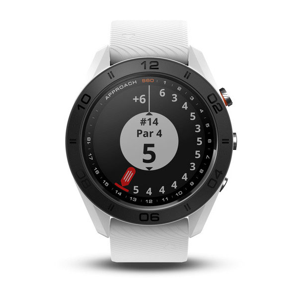 Garmin Approach S60 White with White Band AS60WW
