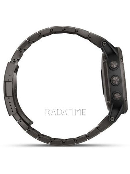 Garmin Fenix 5 Plus Sapphire, Carbon Gray DLC Titanium with DLC Titanium Band FN5PSCGDLC