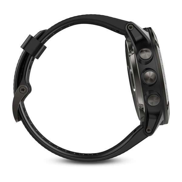 Garmin Fenix 5X Slate Gray Sapphire with Black Band FN5XSSG
