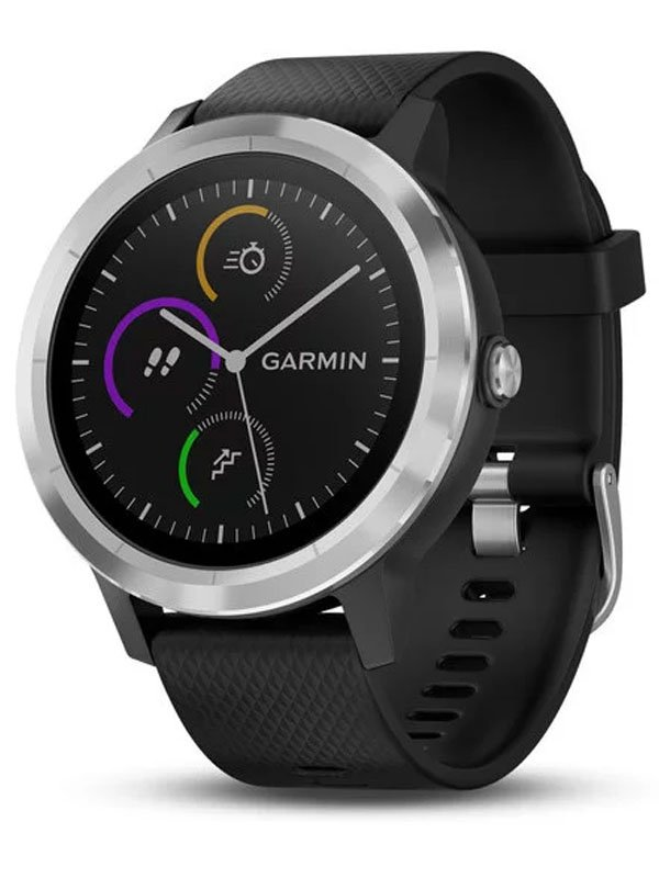 Garmin Vivoactive 3 Black with Stainless Hardware VIVO3BSSH