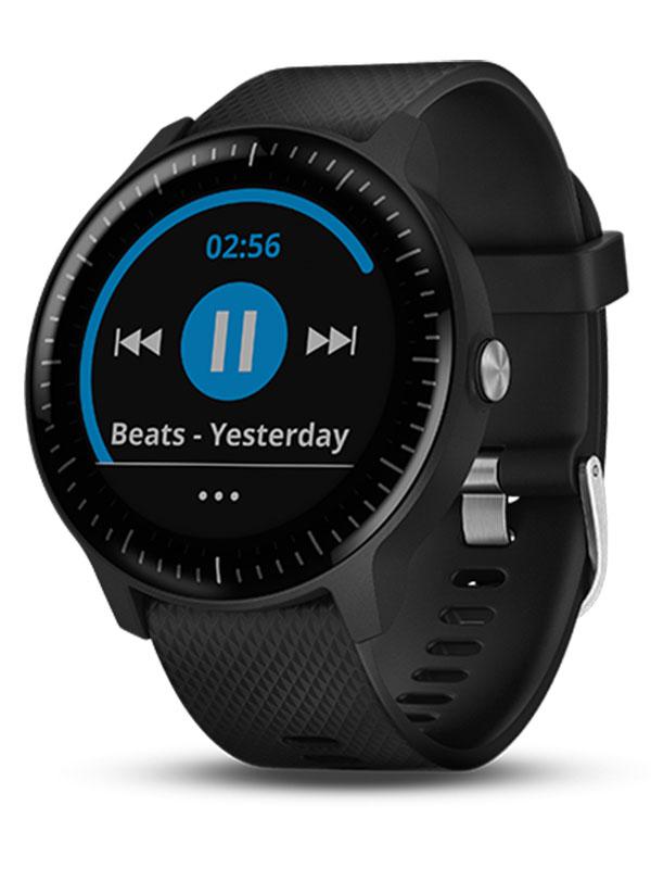 Garmin Vivoactive 3 Premium Music Black with Silver Hardware VIVO3MUSICBSH