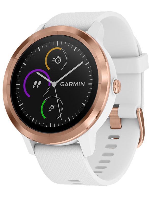 Garmin Vivoactive 3 Premium White with Rose Gold Hardware VIVO3WRGH