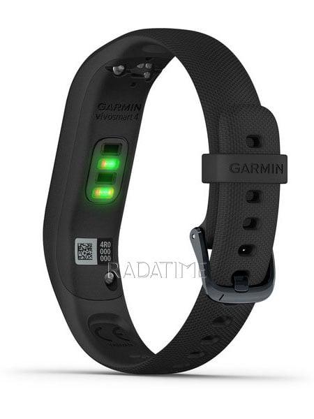 Garmin Vivosmart 4 Black with Midnight Hardware Large VIVO4BMHL