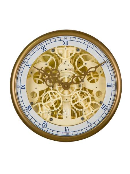 Gear Clock German Tech HY-G007-G