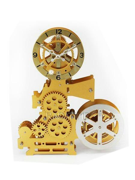 Gear Clock German Tech HY-G126