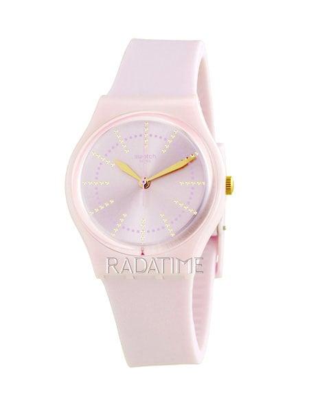 Swatch Jam Tangan Wanita Pink Pink Rubber Pink Gp148 Guimauve ... 8a1277b9bc