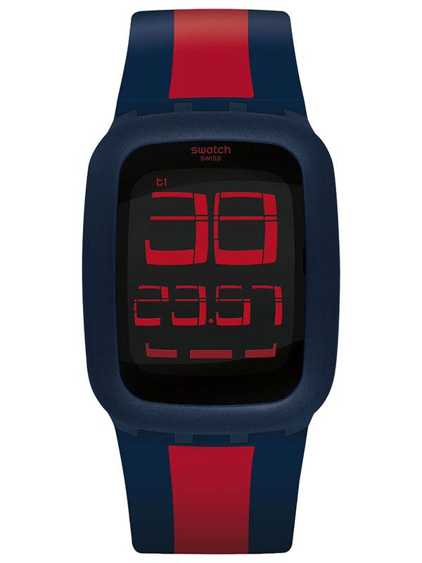 Swatch Touch Dark Blue&Red SURN101D
